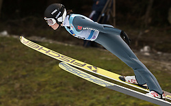 February 8, 2019 - Anna Rupprecht of Germany on first competition day of the FIS Ski Jumping World Cup Ladies Ljubno on February 8, 2019 in Ljubno, Slovenia. (Credit Image: © Rok Rakun/Pacific Press via ZUMA Wire)