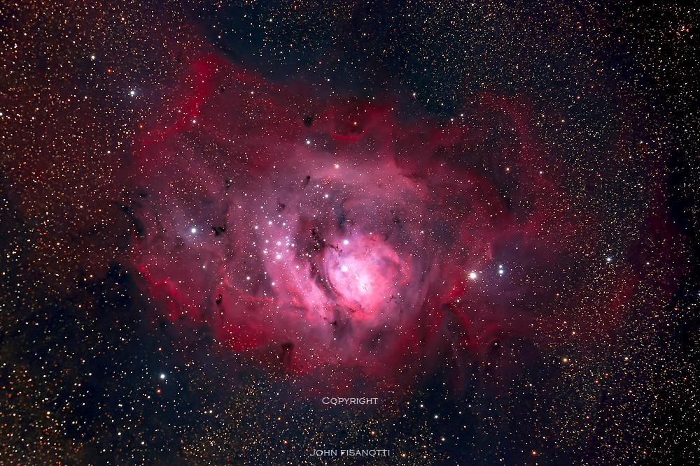 M 8, the Lagoon Nebula in Sagittarius