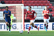 Josh Brownhill (8) of Bristol City on the attack during the EFL Sky Bet Championship match between Bristol City and Hull City at Ashton Gate, Bristol, England on 21 April 2018. Picture by Graham Hunt.