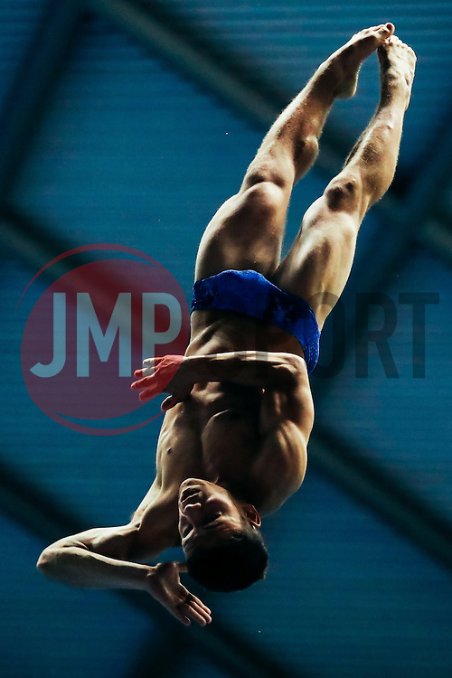 Ross Haslam from City of Sheffield Diving Club competes in the Mens 3m Springboard Final - Mandatory byline: Rogan Thomson/JMP - 11/06/2016 - DIVING - Ponds Forge - Sheffield, England - British Diving Championships 2016 Day 2.