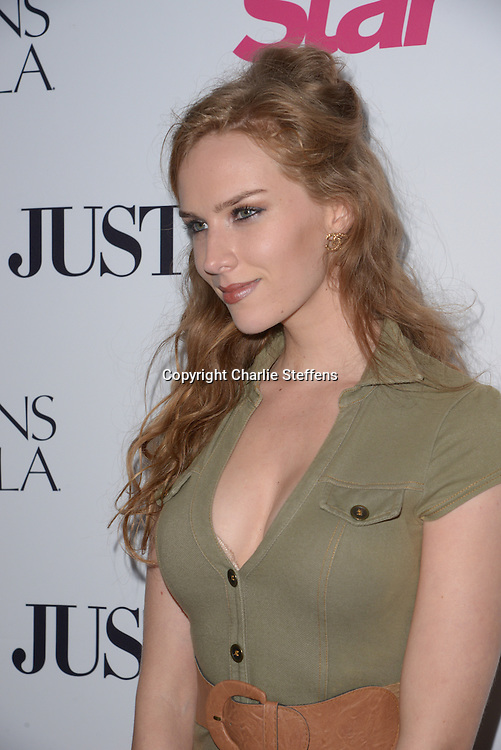 Charlotte Kirk arrives at Star Magazine's 'Hollywood Rocks' Event on <br /> April 14, 2016 at Le Jardin in Hollywood, California. <br /> (Photo: Charlie Steffens/Gnarlyfotos)