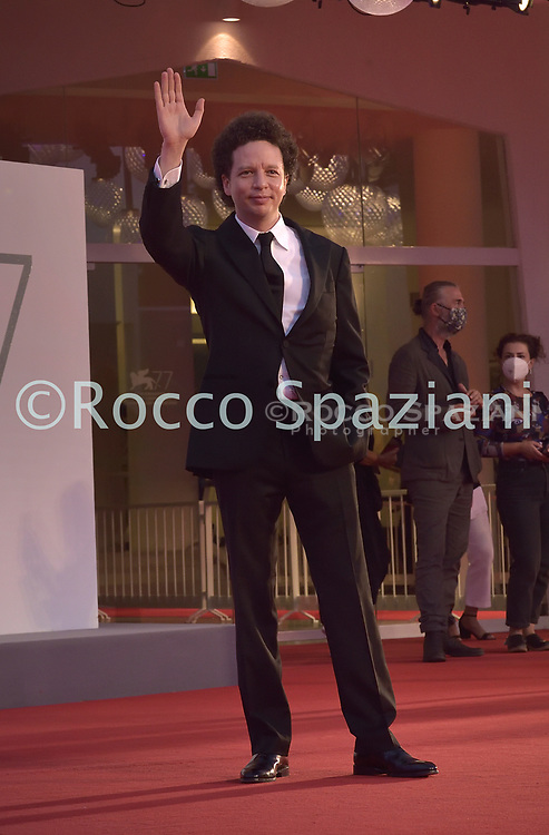 """VENICE, ITALY - SEPTEMBER 10: Michel Franco   walks the red carpet ahead of the movie """"Nuevo Orden"""" (New Order) at the 77th Venice Film Festival on September 10, 2020 in Venice, Italy.<br /> (Photo by Rocco Spaziani)"""