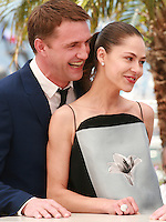 Vladimir Vdovichenkov and Elena Lyadova at the photo call for the film Leviathan at the 67th Cannes Film Festival, Friday 23rd May 2014, Cannes, France.