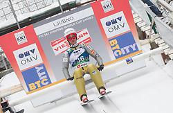 Maja Vtic of Slovenia during Normal Hill Individual Competition at FIS World Cup Ski jumping Ladies Ljubno 2012, on February 11, 2012 in Ljubno ob Savinji, Slovenia. (Photo By Vid Ponikvar / Sportida.com)