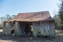 rustic old barn found in South Carolina