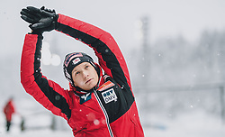 01.03.2020, Salpausselkae Hill, Lahti, FIN, FIS Weltcup Ski Sprung, Herren, im Bild Daniel Huber (AUT) // Daniel Huber of Austria during the men's ski jumping competition of FIS Ski Jumping World Cup at the Salpausselkae Hill in Lahti, Finland on 2020/03/01. EXPA Pictures © 2020, PhotoCredit: EXPA/ JFK