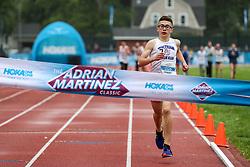 Boys One Mile Run, age 11-14, Miles Sandoski, <br /> 2019 Adrian Martinez Track Classic