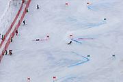 SOELDEN, AUSTRIA. OCTOBER 17 2020:  1st Women's Giant Slalom as part of the Alpine Ski World Cup in Solden on October 17, 2020; Run 2, Marta Bassino (ITA) ( Pierre Teyssot/ESPA Images-Image of Sport)
