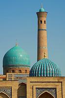 Ouzbekistan, Tashkent, mosquee du Vendredi Hazroti Imam (Karasaray) // Uzbekistan, Tashkent, Hazroti Imam friday mosque