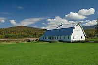 White Barn, Underhill, Vermont