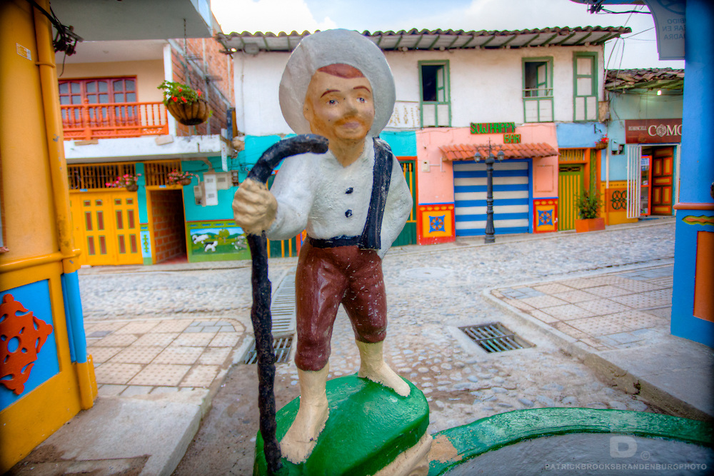 Bright and colorful images from the small town of Guatape, Colombia.