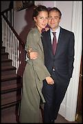 BEN GOLDSMITH; JEMIMA JONES, Sotheby's Frieze week party. New Bond St. London. 15 October 2014.