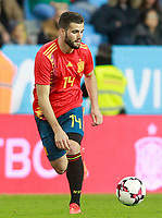 Spain's Nacho Fernandez during international friendly match. November 11,2017.(ALTERPHOTOS/Acero)