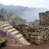 Americas, South America, Peru, Machu PIcchu. The ancient citadel of Machu Picchu, a UNESCO World Heritage Site.