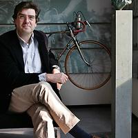 Nederland. Niewegein.15 april 2007..Philip Henneman, CEO van Infostrada Sports..Philip Henneman, CEO of Infostrada Sports