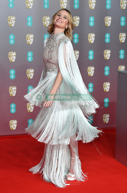 Alice Eve attending the 73rd British Academy Film Awards held at the Royal Albert Hall, London. Photo credit should read: Doug Peters/EMPICS Entertainment