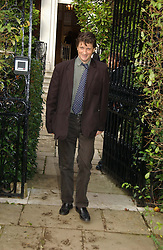 LORD JOHNSTON SOMERSET at the wedding of Lucy Ferry to Robin Birley held at Ormsby Lodge, Ham Gate Avenue, Ham, Surrey on 26th October 2006.<br />