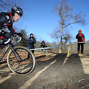 Bret Young in action during the Cyclo-Cross, Supercross Cup 2013 UCI Weekend at the Anthony Wayne Recreation Area, Stony Point, New York. USA. 24th November 2013. Photo Tim Clayton