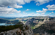 Gebergte Gorges du Verdon, Frankrijk 2014 - Chain of mountains, Gorges du Verdon, France 2014