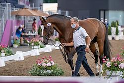 Bengtsson Rolf Goran, SWE, Ermindo W, 386<br /> Olympic Games Tokyo 2021<br /> © Hippo Foto - Dirk Caremans<br /> 31/07/2021