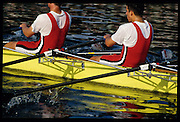 Henley; GREAT BRITAIN; Quadruple Sculls event Queen Mother Challege trophy Mortlake and Anglian BC., Henley Royal Regatta; Henley Reach; 2-6 July 1997; Henley; ENGLAND [Mandatory Credit; Peter Spurrier/Intersport-images] 1997 Henley Royal Regatta, Henley, Great Britain