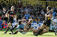 Newport Gwent Dragons v Glasgow Rugby, Heineken cup match at Rodney Parade in Newport on 11th Oct 2008.