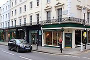 Georgian Terraces on Kensington Church Street, London