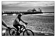 Bournemouth Pier, Dorset, England -  October 2020