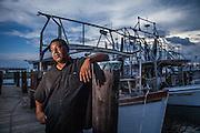 Byron Encalade is a native of East Pointe A-LA Hache, LA, a small fishing village in Plaquemines Parish, Louisiana.