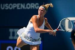 August 29, 2018 - Camila Giorgi of Italy in action during her second-round match at the 2018 US Open Grand Slam tennis tournament. New York, USA. August 29th 2018. (Credit Image: © AFP7 via ZUMA Wire)