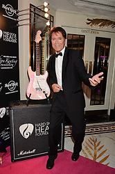 SIR CLIFF RICHARD at the annual PINKTOBER Gala presented by Hard Rock Heals at The Dorchester, Park Lane, London on 14th October 2016.  The annual event raises money for The Caron Keating Foundation.