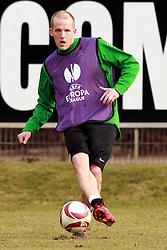 17.03.2010, Weserstadion, Bremen, GER, UEFA Europa League, Abschlusstraining Werder Bremen, im Bild Petri Pasanen (FIN Werder #03). EXPA Pictures © 2010, PhotoCredit: EXPA/ nph/  Arend