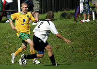 Fotball<br /> Treingskamp Friendly<br /> 19.07.08<br /> Sjövalla Stadion<br /> Ahlafors IF - Norwich City<br /> Luke Chadwick<br /> Foto - Kasper Wikestad