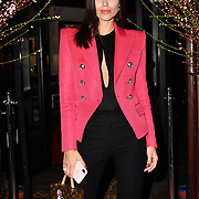 Katrina Makhova attend Travel bag brand hosts the launch of its exclusive luxury collection of handbags in collaboration with model and designer Anastasiia Masiutkina  D'Ambrosio on 26 March 2019, Caviar House & Prunier 161 Piccadilly, London, UK.