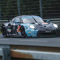 #77, Dempsey Proton Racing,Porsche 911 RSR, LMGTE Am,driven by: Christian Ried, Julien Andlauer, Matt Campbell on 14/06/2018 at the 24H of Le Mans, 2018