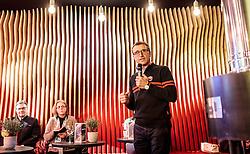08.02.2017, Biathlonarena, Hochfilzen, AUT, IBU Weltmeisterschaften Biathlon, Hochfilzen 2017, Eröffnung Tirol Berg, im Bild Josef G. Margreiter (Geschäftsführer Tirol Werbung) // Josef G. Margreiter (Managing Director Tirol Werbung) during the Opening Ceremony of the Tirol House of the IBU Biathlon World Championships at the Biathlonarena in Hochfilzen, Austria on 2017/02/08. EXPA Pictures © 2017, PhotoCredit: EXPA/ JFK