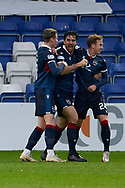 Ross Draper of Ross County celebrates his goal during the Scottish Premiership match between Ross County FC and St Johnstone FC at the Global Energy Stadium, Dingwall, Scotland on 2 January 2021