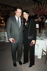 JO THORNTON and MAGGIE HERNANDEZ Krug's CEO at the Krug Mindshare auction held at Sotheby's, New Bond Street, London on 1st November 2010.