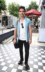 Kelly Jones arrives at a studio in west London, to help with the recording of a charity single after Simon Cowell pledged to record a new track within the next few days to help raise funds for those affected by the Grenfell Tower fire.