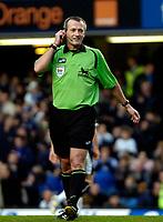 Photo: Ed Godden/Sportsbeat Images.<br />Chelsea v Wigan Athletic. The Barclays Premiership. 13/01/2007. Referee Martin Atkinson.