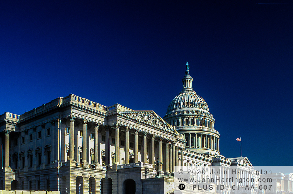 The US Capitol building in Washington DC