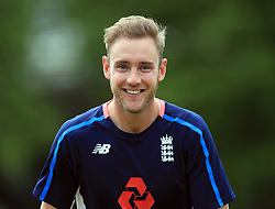 File photo dated 05-09-2017 of England's Stuart Broad during the nets session at Lords, London.