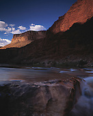 02352 Colorado River North Canyon Grand Canyon National Park waterfall wilderness