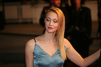 Sarah Gadon attending the gala screening of The Sapphires at the 65th Cannes Film Festival. Saturday 19th May 2012 in Cannes Film Festival, France.