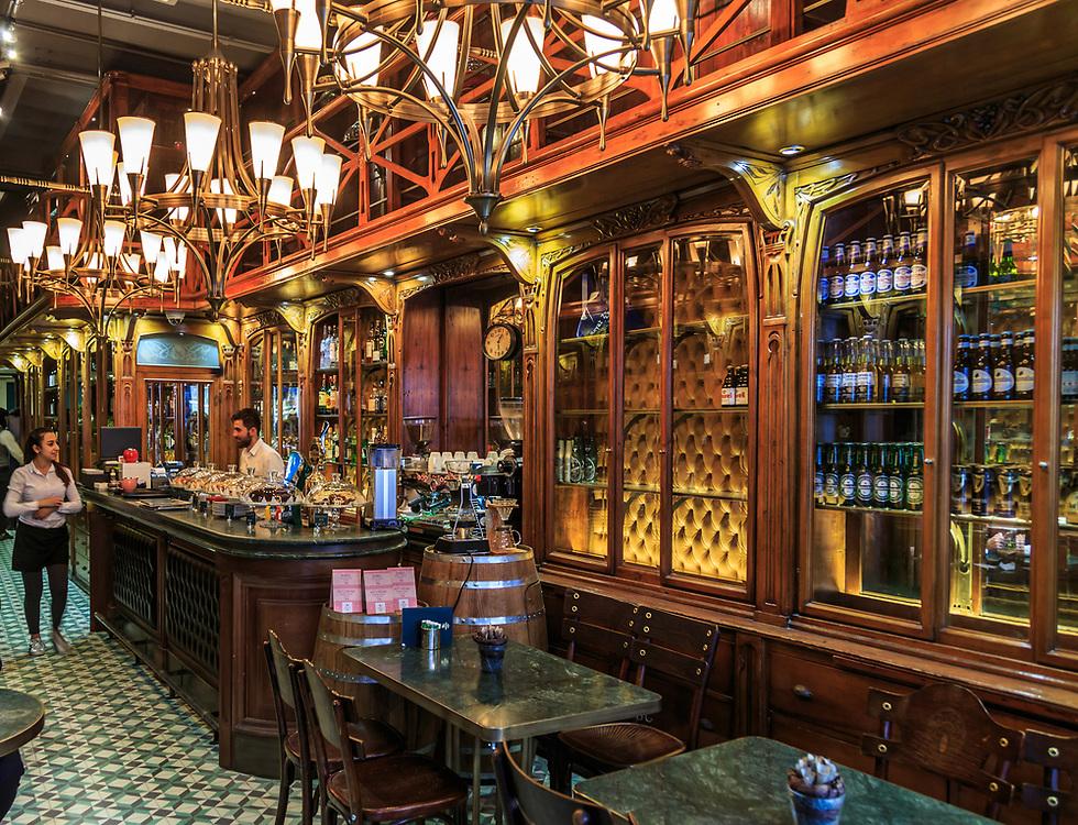 The Ravouna Coffee & Bar in Istanbul, Turkey.
