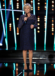 Sue Barker during the BBC Sports Personality of the Year 2018 at Birmingham Genting Arena.