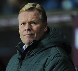 Southampton Manager, Ronald Koeman - Photo mandatory by-line: Dougie Allward/JMP - Mobile: 07966 386802 - 24/11/2014 - SPORT - Football - Birmingham - Villa Park - Aston Villa v Southampton - Barclays Premier League