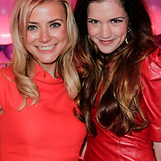 NLD/Amsterdam/20120330 - Emma Raising Fund Night, Gigi Ravelli en Marly van der Velden