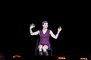Francesca Martinez. The Peoples Assembly  presents: Stand Up Against Austerity. Live at the Hammersmith Apollo. London.