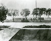 1921 Construction of Warner Bros. studios on Sunset Blvd.